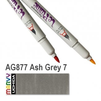 AG877 Ash Grey 7 LePlume Marvy