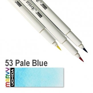 53 Pale Blue Artist Brush Marvy