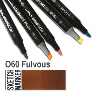 O060 Fulvous Brush SketchMarker